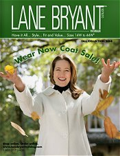 Picture of lane bryant catalog from Lane Bryant catalog