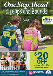 Picture of child safety products from Leaps and Bounds catalog