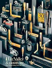Picture of wood burning tools from Lee Valley Tools catalog