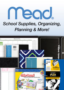 Picture of mead office supplies from Mead ® catalog