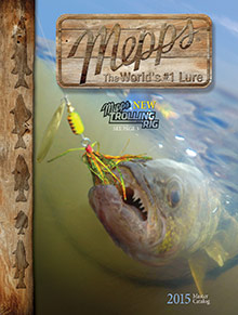 Picture of Fish anglers from Mepps Fishing Guide catalog