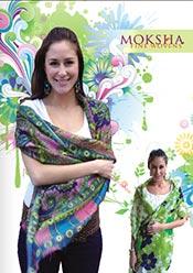 Picture of Scarves for women from Moksha Fine Wovens catalog