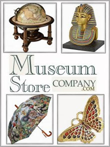 Picture of museum jewelry from Museum Store Company catalog