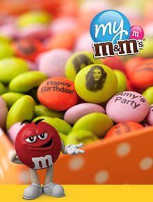 Picture of my m&ms from My M&M's catalog