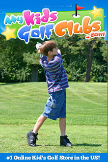 Picture of kids golf clubs from My Kids Golf Clubs catalog