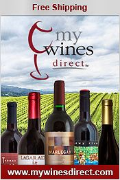 Picture of wines of the world from My Wines Direct catalog