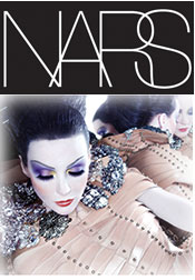 Picture of make up collection from NARS Cosmetics catalog