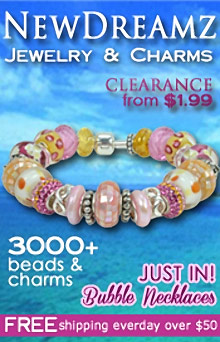 Picture of Dreamz charms from NewDreamz catalog