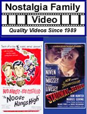 Picture of old movies from Nostalgia Family Video catalog