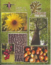 Picture of wild fruit trees from Oikos Tree Crops catalog
