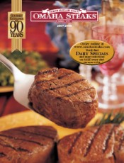 Picture of Omaha Steaks from Omaha Steaks catalog