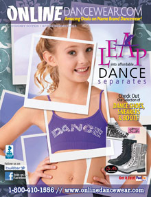 Picture of hot hip hop clothes from Online Dancewear catalog