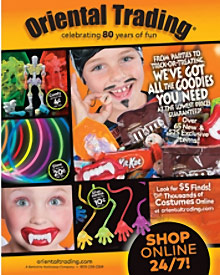 Picture of best Halloween costumes from Halloween by Oriental Trading catalog