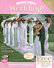 Picture of print your own wedding invitations from Oriental Trading Company - Wedding catalog