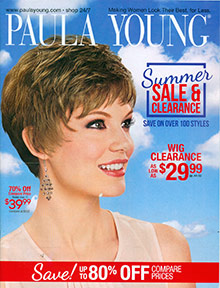 Picture of Paula Young wigs from Paula Young catalog