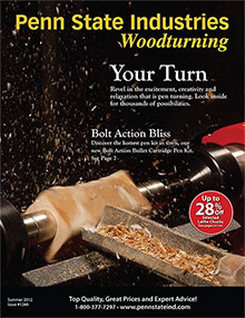 Picture of woodworking catalogs from Penn State Industries catalog