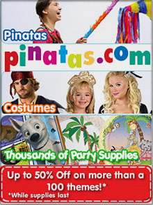 Picture of large pinatas from Pinatas.com catalog