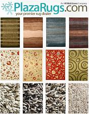 Picture of designer area rugs from PlazaRugs.com catalog