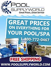 Picture of swimming pool supplies online from Pool Supply World catalog