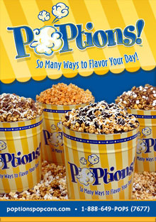 Picture of poptions popcorn from POPtions! Popcorn catalog