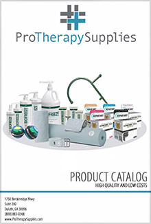 Picture of pro therapy supplies coupon code from Pro Therapy Supplies catalog