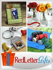 Picture of personalized picture frames from RedLetterGifts.com catalog