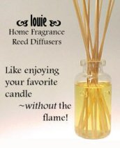 Picture of fragrance oils from Reed Diffusers catalog