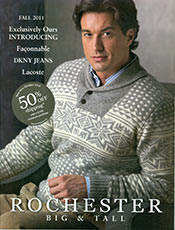 Picture of big and tall apparel from Rochester Big & Tall catalog