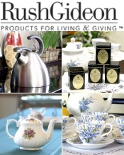Picture of unique teapots from RushGideon - The Tea Room catalog