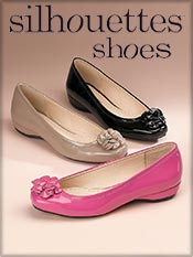 Picture of wide width shoes for women from Silhouettes Shoes catalog