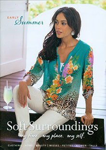 Picture of casual womens wear from Soft Surroundings catalog