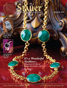 Picture of Stauer jewelry from Stauer catalog