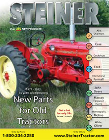 Picture of steiner tractor parts from Steiner Tractor catalog