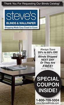 Picture of Steves blinds from Steve's Blinds catalog