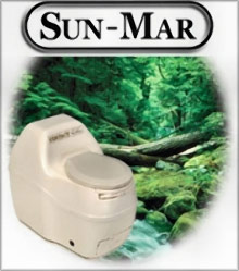 Picture of composting toilet systems from Sun-Mar - Composting Toilet Systems catalog