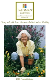 Picture of personal care for seniors from Talisman Collection catalog