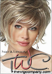 Picture of wig catalogs from The Wig Company catalog