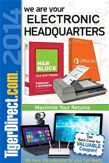 Picture of desk top computers from TigerDirect.com catalog