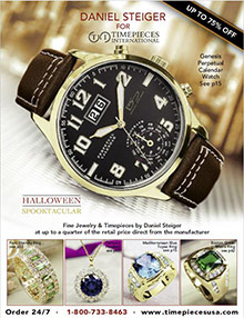 Picture of luxury timepieces from Timepieces International catalog
