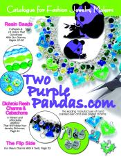 Picture of bracelets and charm from Two Purple Pandas - Charms catalog