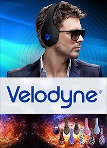 Picture of velodyne subwoofer from Velodyne catalog