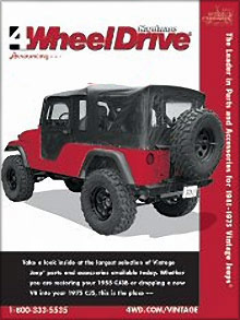 Picture of Jeep replacement parts from Vintage Jeeps - Four Wheel Drive Hardware catalog