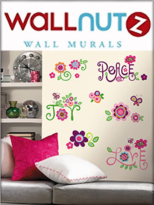 Picture of wall murals from Wallnutz Wall Murals catalog