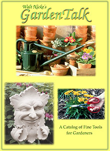 Picture of garden catalogs from Walt Nicke's GardenTalk catalog