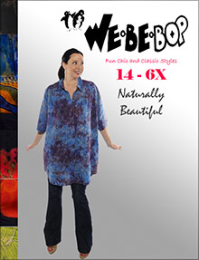 Picture of webebop plus size clothing from WeBeBop catalog