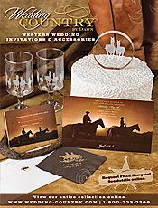 Picture Of Western Wedding Invitations From Wedding Country By Dawn Catalog
