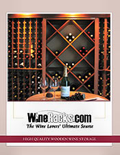 Picture of custom wine storage from WineRacks.com catalog