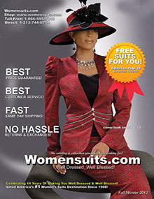 Picture of womens church suits from WomenSuits.com Reg & Plus catalog