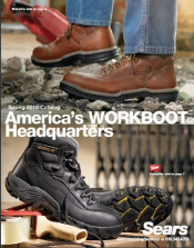Picture of sears work boots from Sears Work Boots Catalog catalog